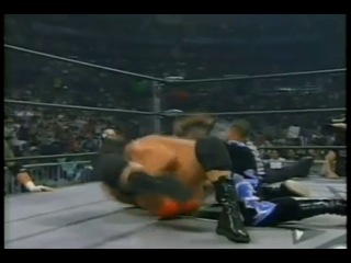 WCW Bash at the Beach 1999 - Chris Benoit and Perry Saturn vs Jersey Triad