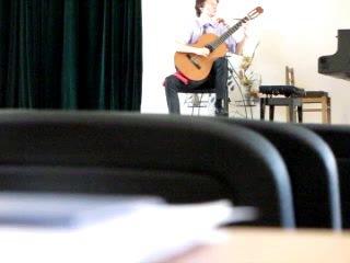 Вислов играет Колибри и Тарантеллу Кастельнуово-Тедеско