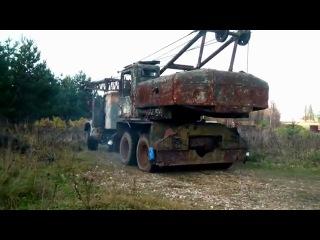 Грузовик КрАЗ-255 - легенда советского автопрома!