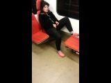 Are you Serious!!!!???On the Subway??