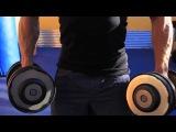 Как прокачать плечи - тренировка с Денисом Семенихиным.