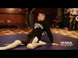 Открытая тренировка Нейта Диаза UFC on FOX 5