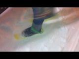 Фанаты Алёны Пискун отпрашивают на лыжах!!
