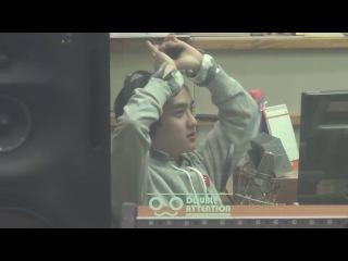 [FANCAM] 140110 D.O Focus @ MBC-R Cool FM Jang Yoonju's Rooftop Radio