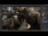 Photo manipulations T-Rex Project