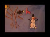 Сережа сделал мульт про снеговика. 25,01,2013