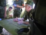 Командир батальона орет и строит молодых. вояки бля