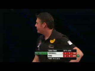 Justin Pipe vs Dave Chisnall (World Grand Prix 2013 / Semi Final)