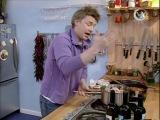 Жить вкусно с Джейми Оливером. 35 серия. Ресторан Джейми (Jamie's Soup Kitchen) - (тосканский суп паппа аль помодоро , китайский куриный суп, рыбный суп по французки)