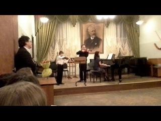 Классный вечер Т.В.Балашевой, Глазунов-Гавот из балета