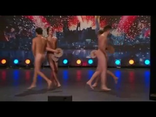 Sweden Got Talent 2009 (Talang sverige) - Four Guys Dancing Naked [HQ] _w subtitles.flv