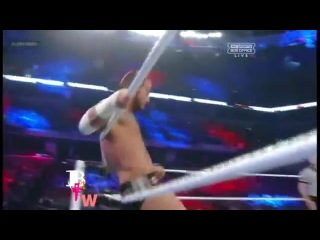 WWE Survivor Series 2012 WWE Championship Highlights Cm Punk vs. Ryback vs. John Cena