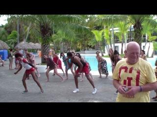Танцы с анниматорами. Республика Доминикана. Ноябрь 2013 год.