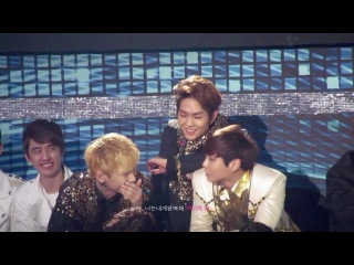 121229 Precious SHINee moments @ SBS Gayo Daejun