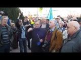 В Симферополе на Евромайдане поют гимн УПА 'Ой у лузі червона калина'