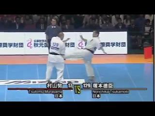 10 чемпионат мира по Шинкиокушинкай карате Япония г.Токио 2011 Финал Tsutomu Murayama vs Norichika Tsukamoto