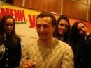 Сергей Безруков на презентации Джентельмены удачи, Киев, 17.12.2012 года.