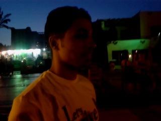 Singing for Amr Diab