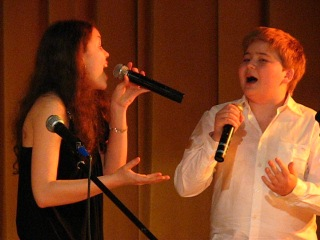 Наш отчетный концерт Дуэт с Димой Кузнецовым первый год