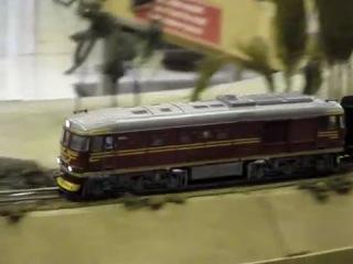3-я выставка моделистов в музее истории железных дорог Латвии (25-29.10.2011)