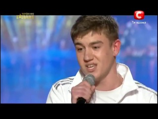 Украина мае талант 5 - Дмитрий Масюченко [1.06.13] СУПЕР ФИНАЛ рэп про ДЕДА)