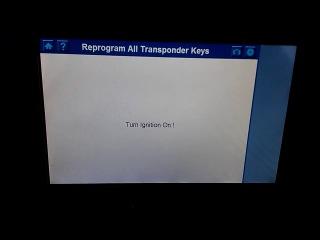 Autel MaxiDAS DS708 Programming keys 2012 VE Holden Commodore