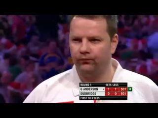 Gary Anderson vs Mark Dudbridge (PDC World Darts Championship 2014 / Round 1)