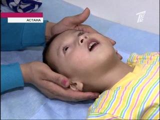 В Астане поставили на ноги малыша с ДЦП при помощи иглоукалывания
