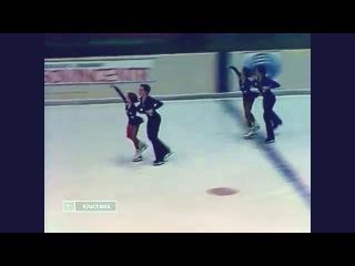 Тройной синхрон спортивных пар - Черкасова-Шахрай,Пестова-Леонович,Першина-Акбаров.
