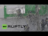 Ukraine: Police firing live ammo in Kiev clashes