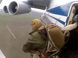 Прыжки с ИЛ-76 ВДВ Вперед!!!!!!!
