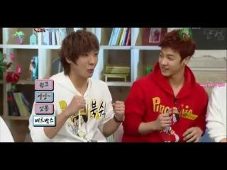 │B2ST (비스트) Kikwang vs MBLAQ (엠블랙) LeeJoon - Aegyo Battle│