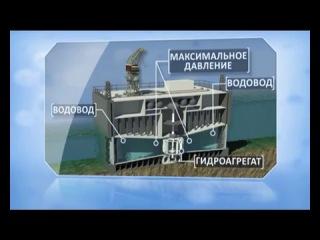 Кислогубская приливная электростанция (ПЭС), единственная в РФ и работающая с 1968 г.