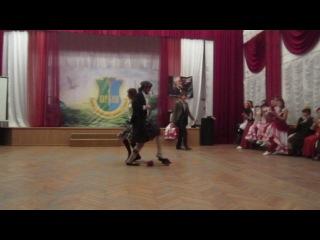 Шотландский танец на мечах