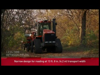 Case IH 1260 Early Riser Planters In Action