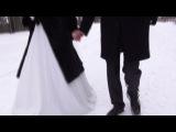Зимняя очень красивая свадьба Рината и Юлии