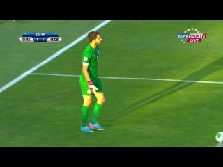 GOOL-LIVE.AT.UA     Чемпионат мира 2013 / 2013 FIFA World Cup U-20 / 1/8 финала / Греция - Узбекистан / Eurosport 2