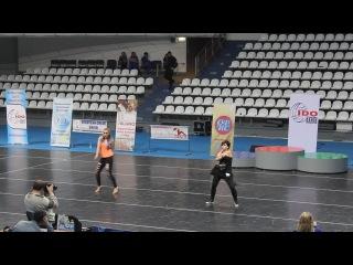 II AVANGARD OPEN CUP. Чичканова Анастасия. R&B.