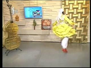 Легкие движения татарского национального танца