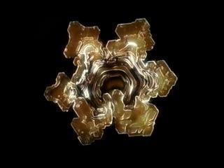 Влияние слов и музыки на кристаллы воды.
