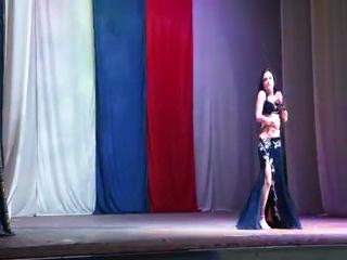 МАРЬЯНА ШКРОБОТ - танец в эстрадной восточной песне