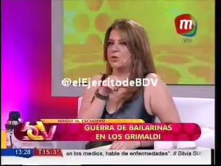 Silvina Escudero 'No le voy a contestar a Magui Bravi. No hablé de ella. Elijo con quien pelearme'