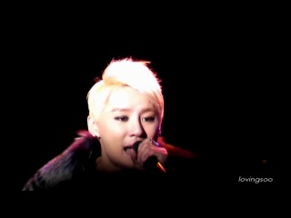 [Fancam] 121230 XIA Ballad Musical Concert with Orchestra - 그런가봐요
