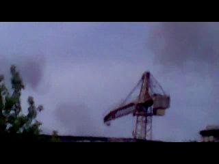 рядом с чапаевском взорвался завод с боеприпасами в поселке нагорный