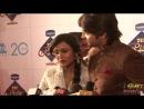 TV Couple Ashish Sharma Archana Taide at Zee Rishtey Awards 2