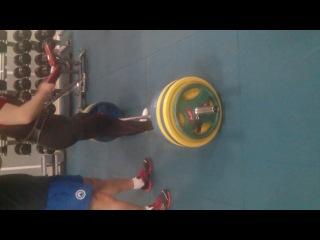 Майхов Паша тяга 220 кг