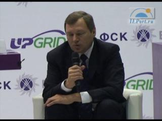 Пресс-конференция Олега Бударгина на выставке UPGrid 2012