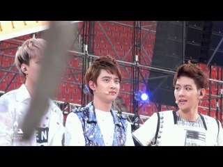 130316 Korean Music Wave Bangkok EXO-K Talk 도경수 D.O. [ avell-do ]