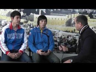 Верующие таланты большого спорта Алексей Денисенко и Владимир Ким, чемпионы Европы по тэквандо