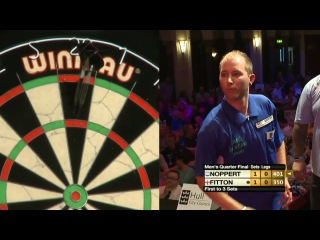 Darryl Fitton vs Danny Noppert (Winmau World Masters 2013 / Quarter Final)
